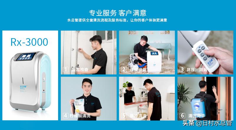 市面上的水管清洗设备主要有哪几种?哪种更好用?