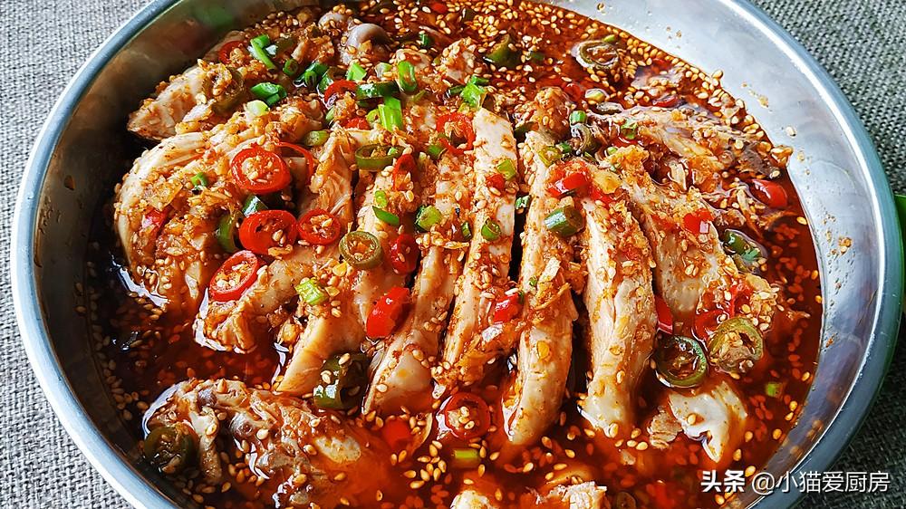 几道鸡肉和附件制作的凉拌菜做法步骤图 香辣爽口好吃过瘾