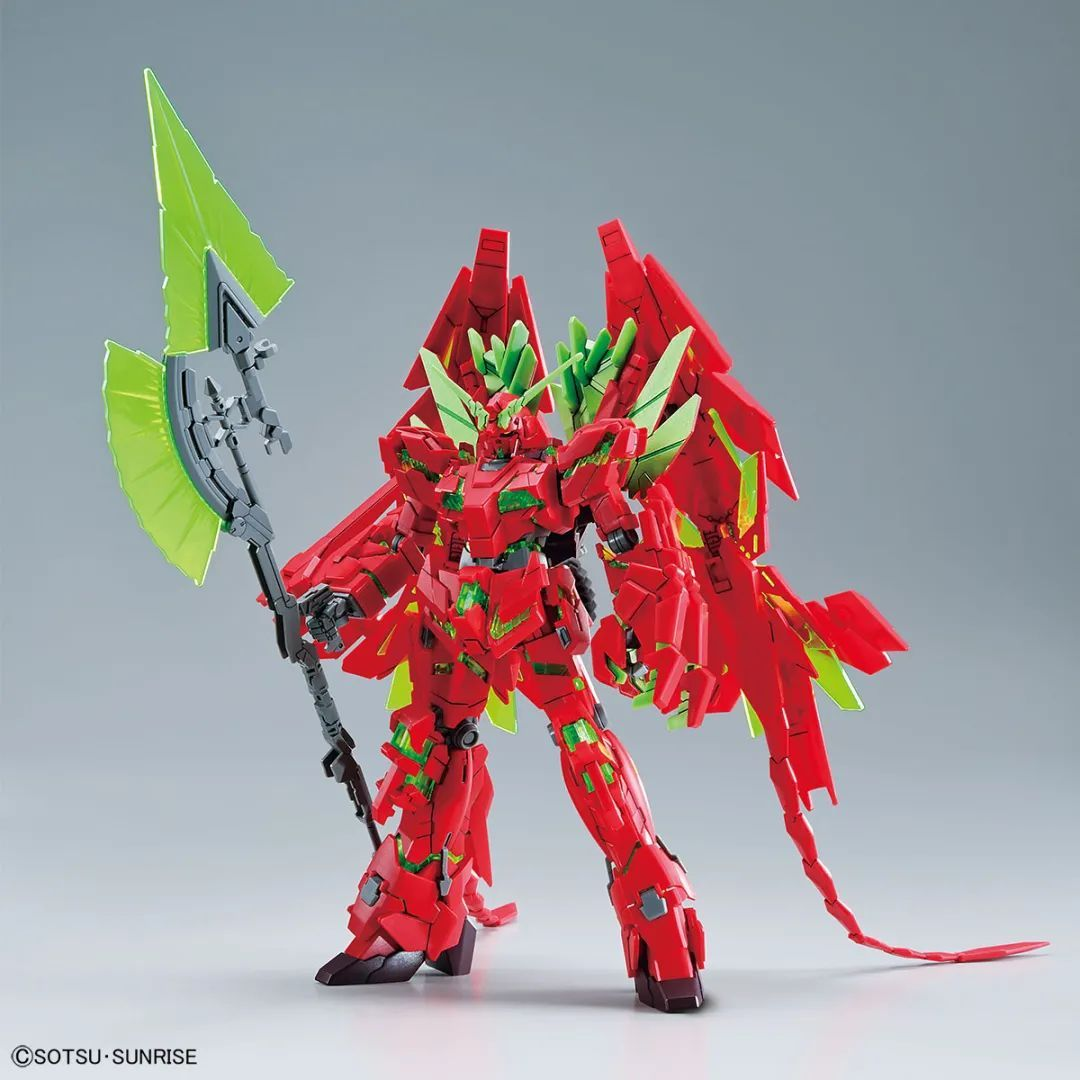 最终决战式样的完美独角兽高达模型换色