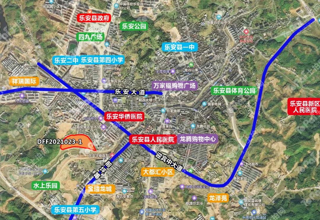 碧桂园首进乐安县!1.52亿摘71亩商住地,将配建安置房、道路桥梁