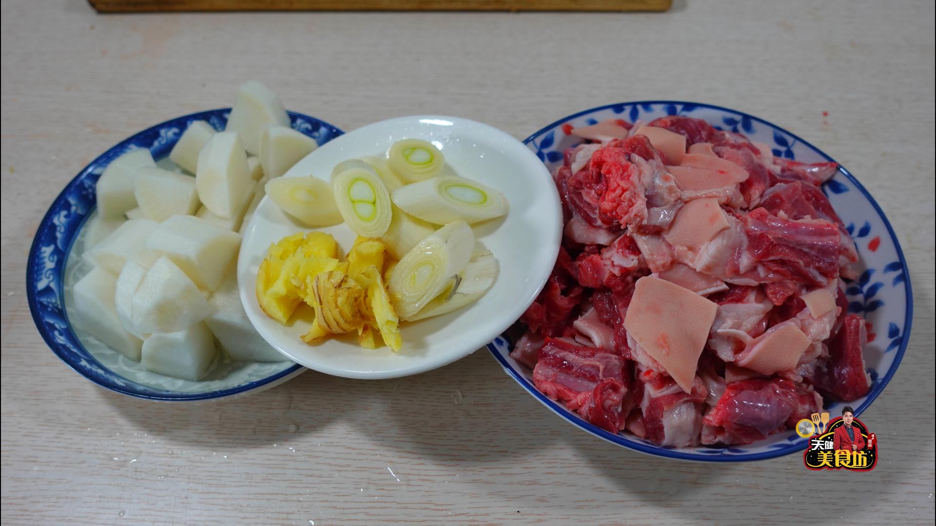 羊肉炖萝卜广东人都爱这样做,营养美味,汤鲜味美,做法还很简单