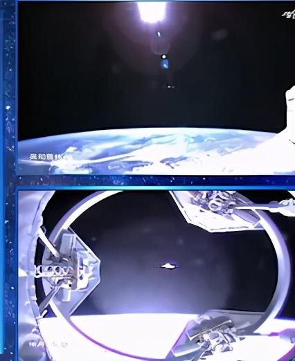距离仅200米,屏幕上突然出现两个天和舱,聂海胜:哪个是真的?