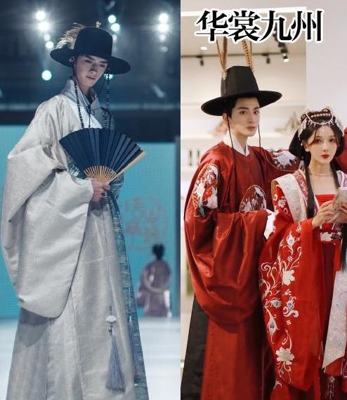 国人画师画汉服被韩国网友碰瓷,霸气回应:这衣服出自明朝