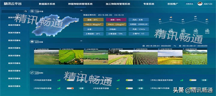 """精讯畅通农业""""四情""""监测系统"""