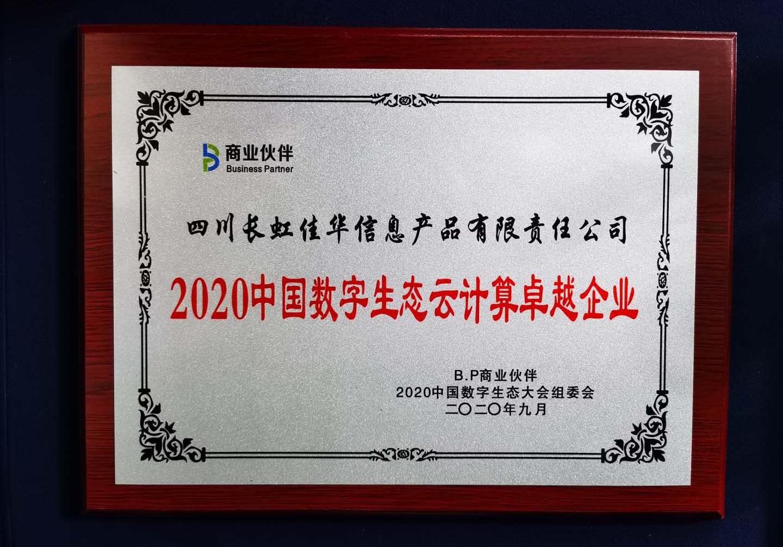 做好ICT生态圈连接者 长虹佳华荣膺中国数字生态多项嘉奖