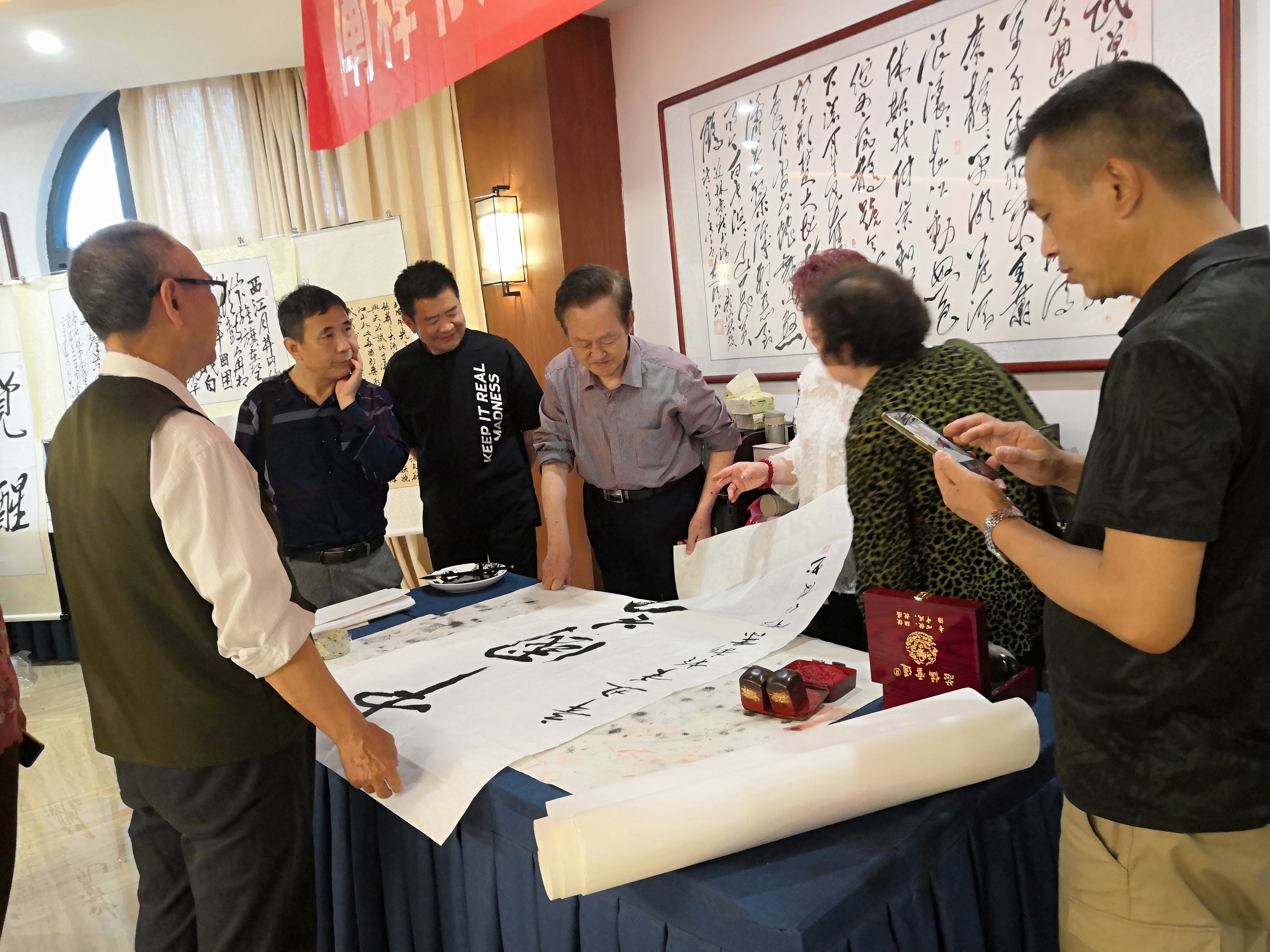江西省毛体书法协会庆祝建党100周年书法艺术交流活动成功举办