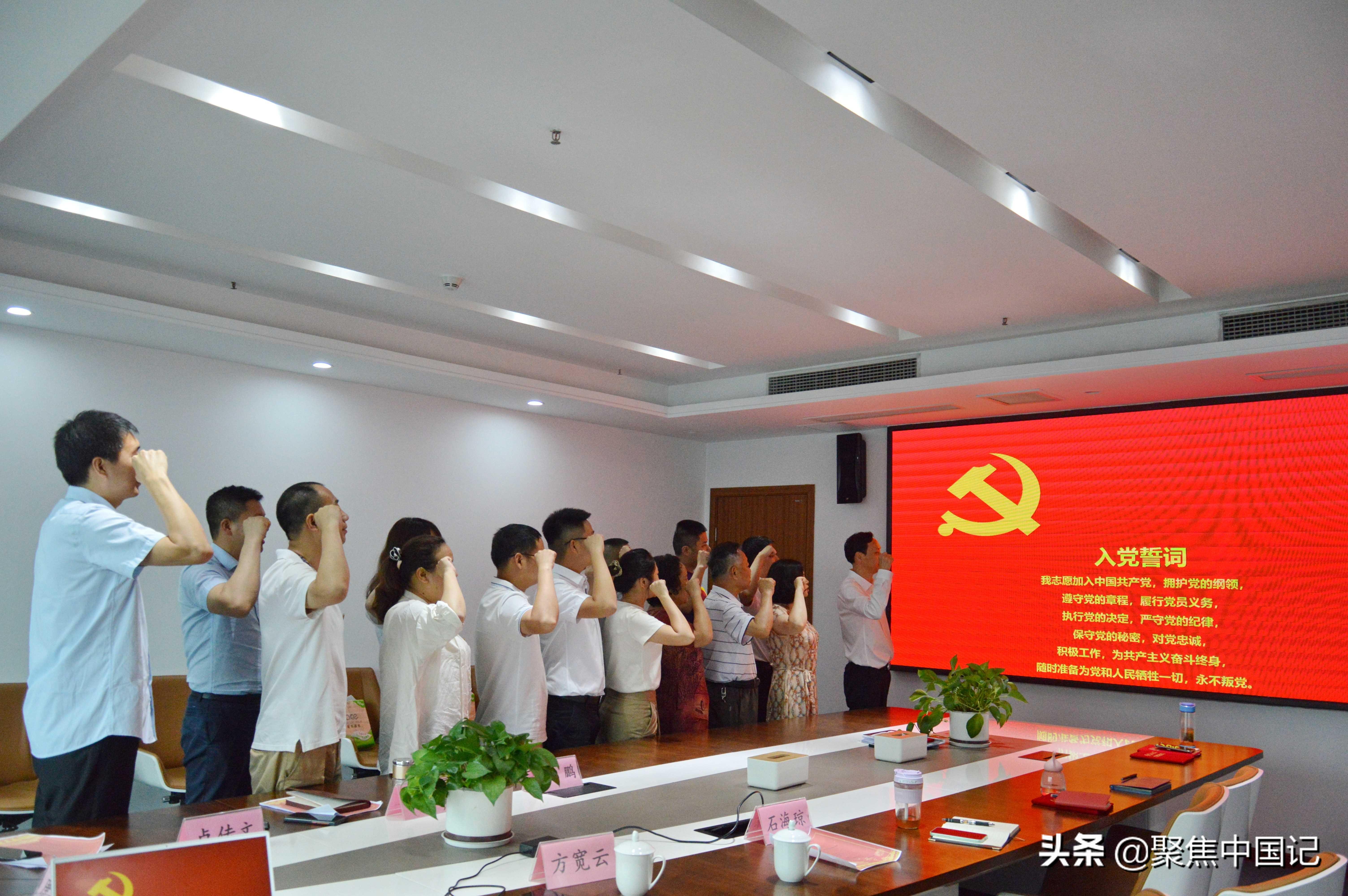 党的光辉照我心|三峡环保集团支部委员会颂党恩、跟党走