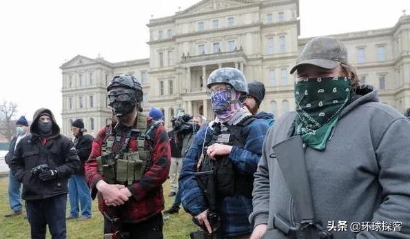 传来一个坏消息,美国各州现武装分子,内战之火或被挑起