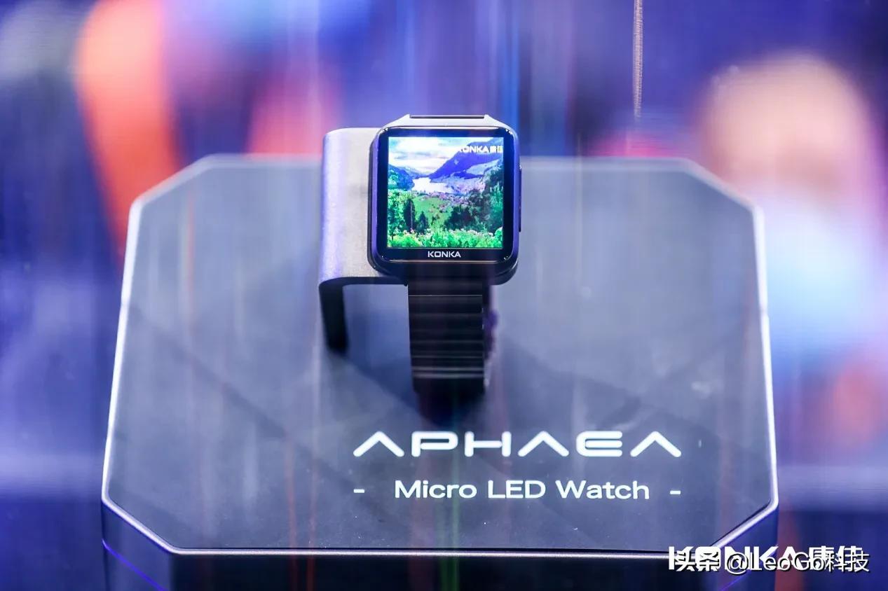 蘋果手表該扔瞭:全球首款Micro LED手表發佈,來自中國