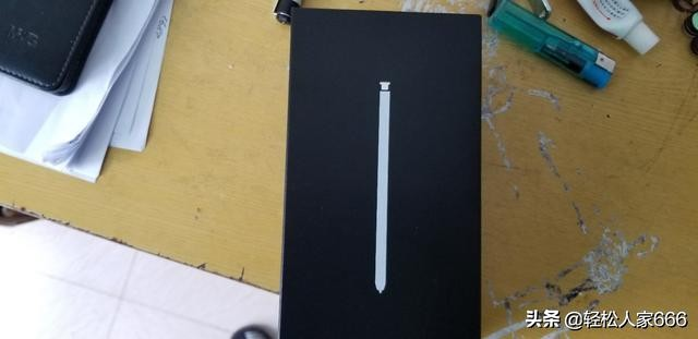 港行的三星手机note9初嫩白简易拆箱