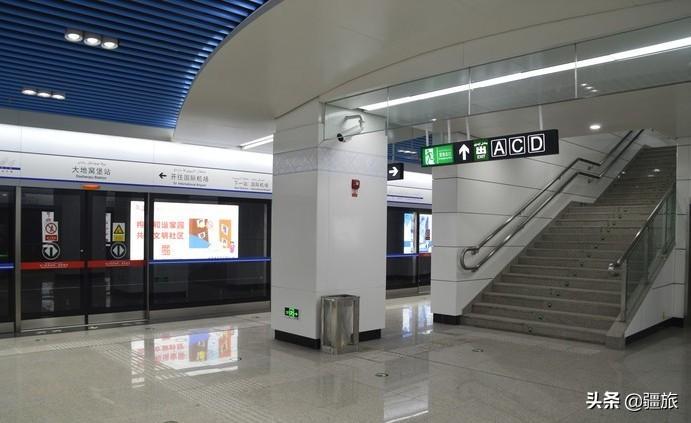 新疆乌鲁木齐好消息!地铁疫情后正式运行,出行方便!