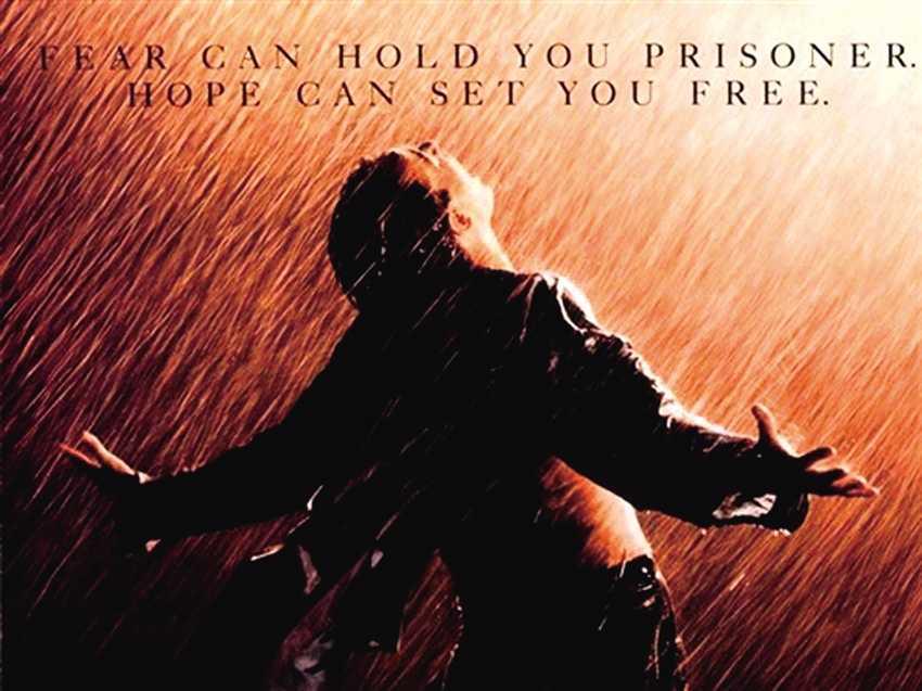 """""""希望""""是《肖申克的救赎》"""