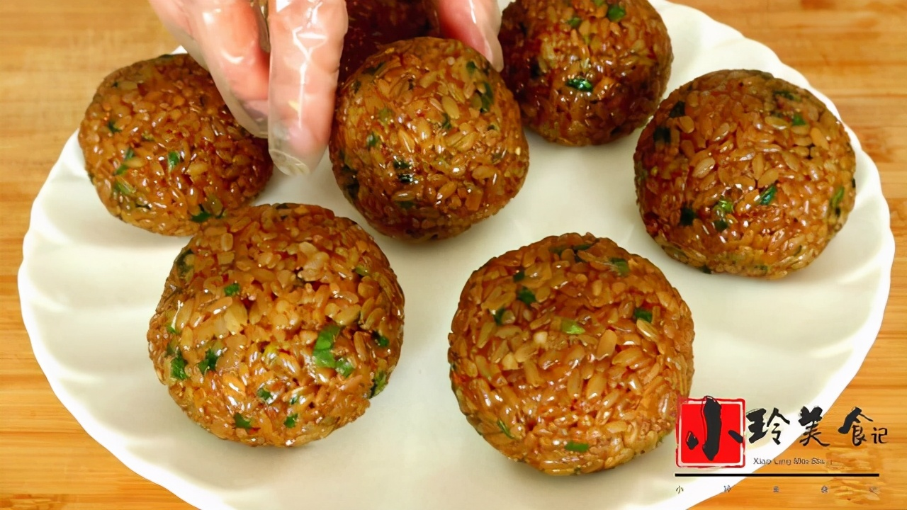 糯米饭团这样做软糯入味,口感鲜香,营养丰富,吃一次就念念不忘 美食做法 第15张