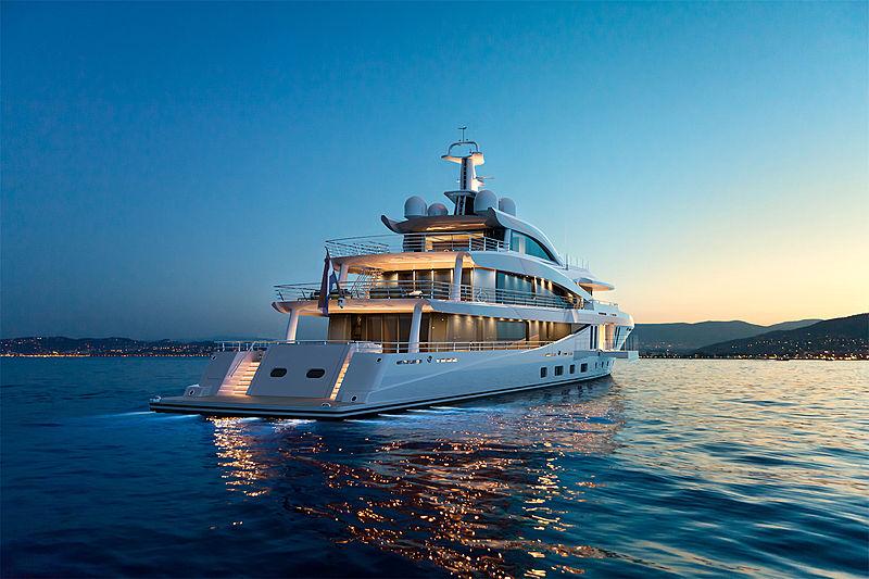 荷兰超级游艇Amels宣布售出60米混动Amels 200