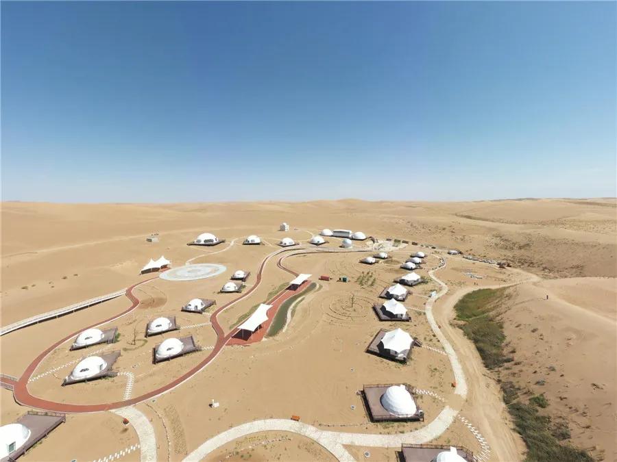 武威沙漠中的大项目 现在建得怎么样了?