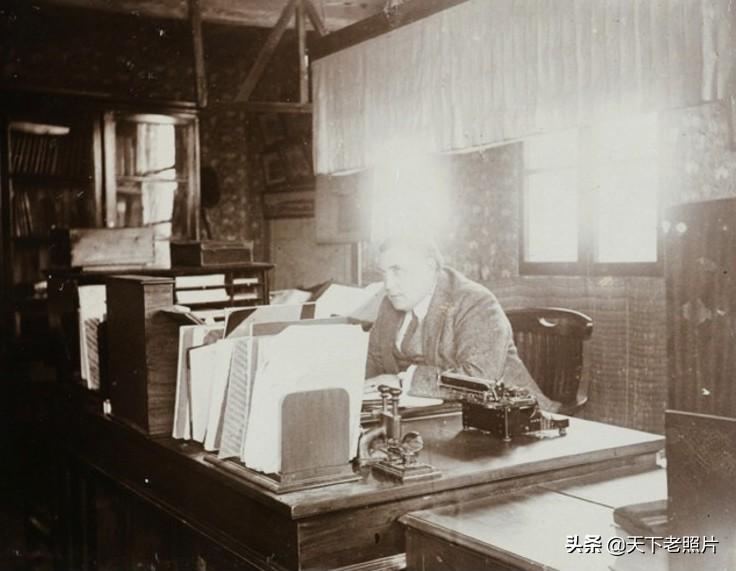 1920年广西南宁老照片 百年前的南宁海关旧影像