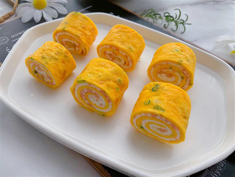 日式鸡蛋卷做法步骤图