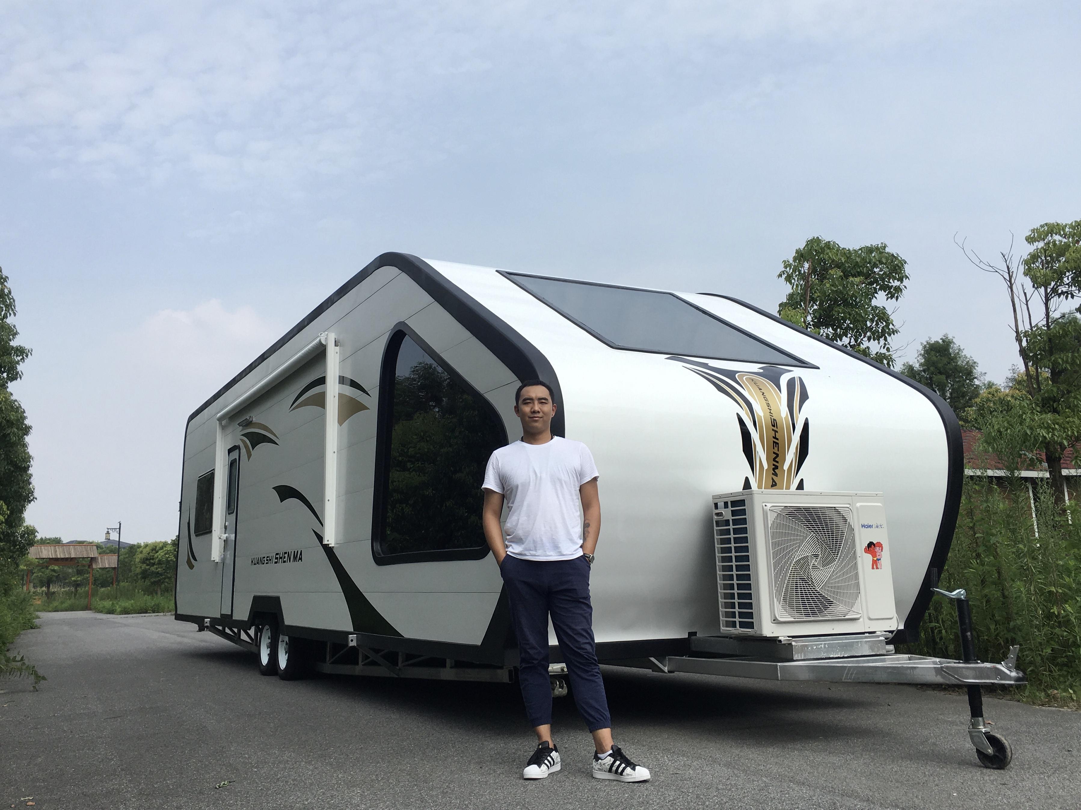 环球营地房车 13米超五星级的住宿体验展厅现车欢迎品鉴