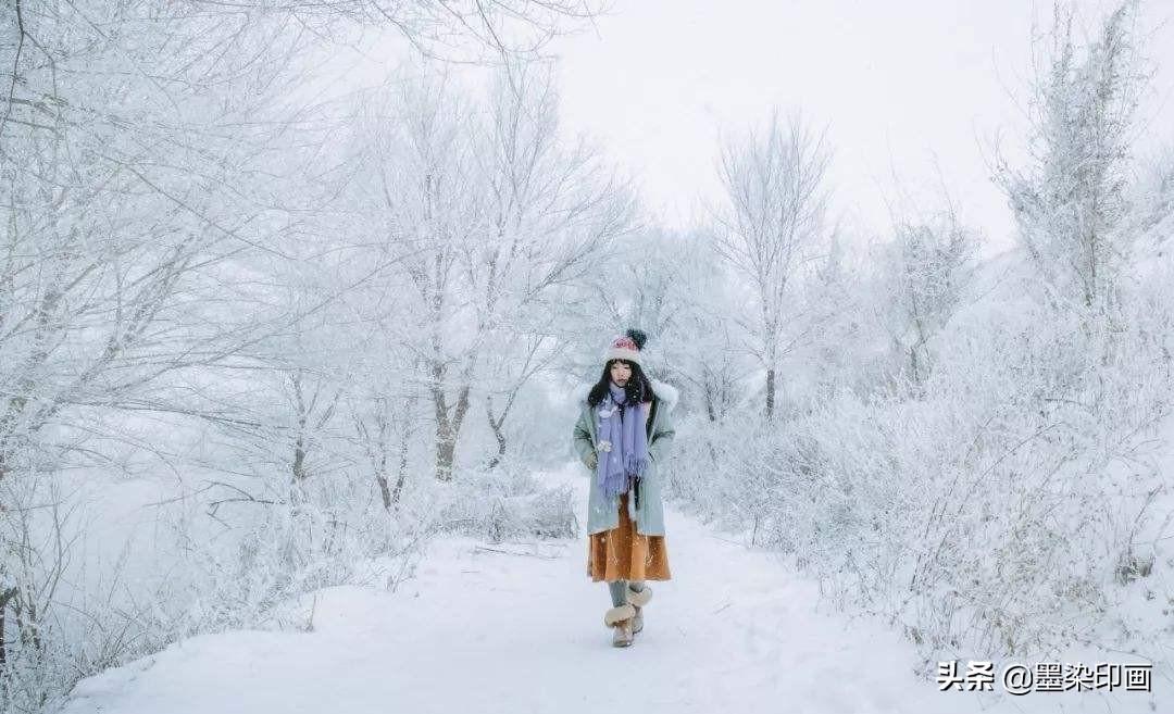 """冬日雪景人像怎么拍?28张示例照,全方位拍梦幻""""雪地人像""""照"""