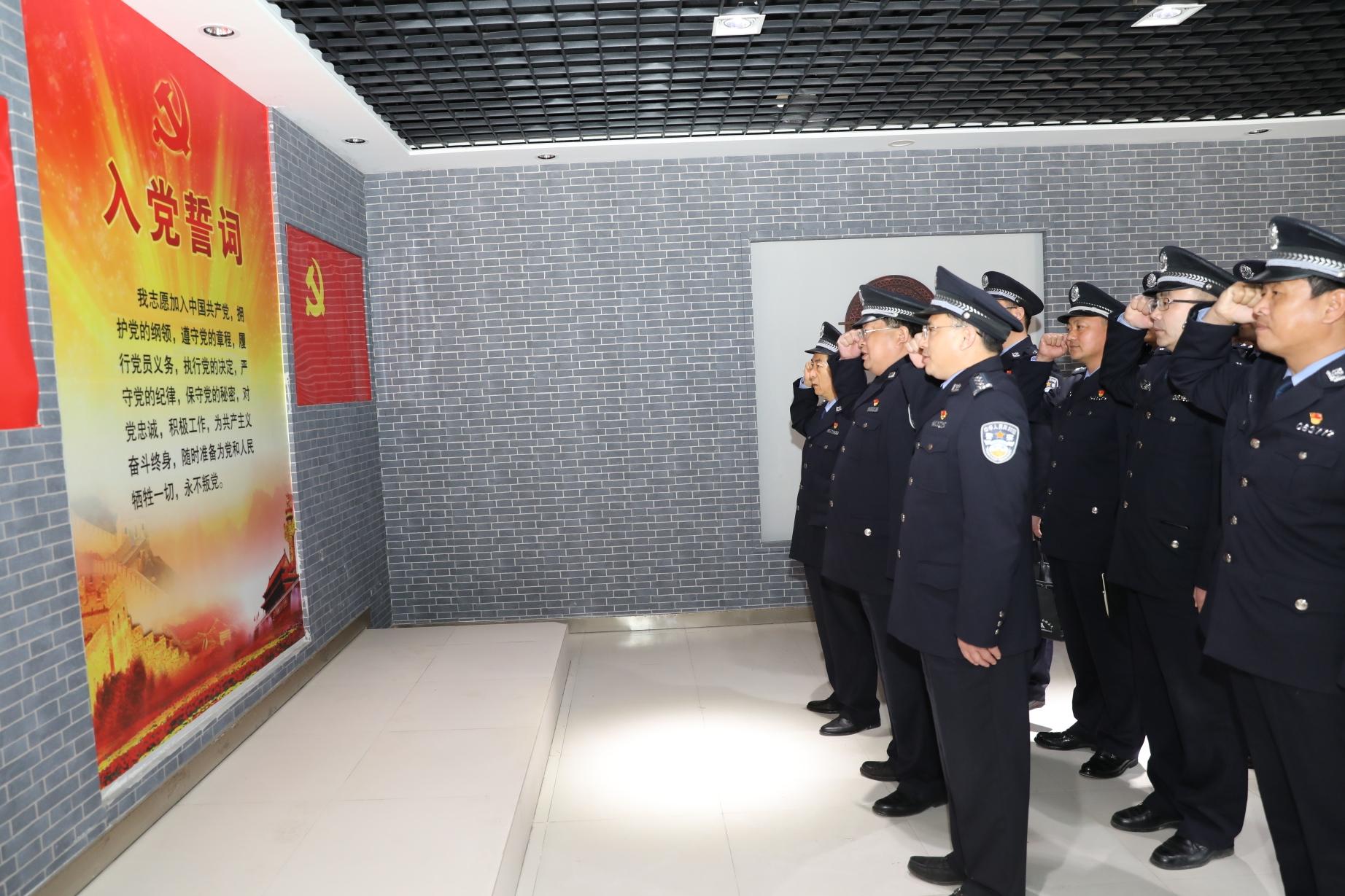 虞城县公安局组织民警参观廉政教育基地