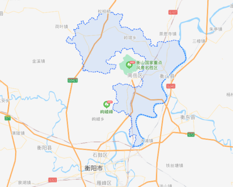 湖南省一个县,因为一座山而得名,建县历史超1700年