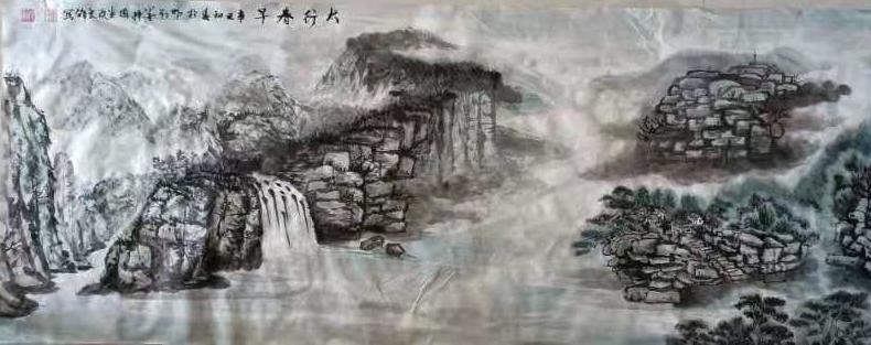 访徐州槐香斋书画院理事张良锋老师