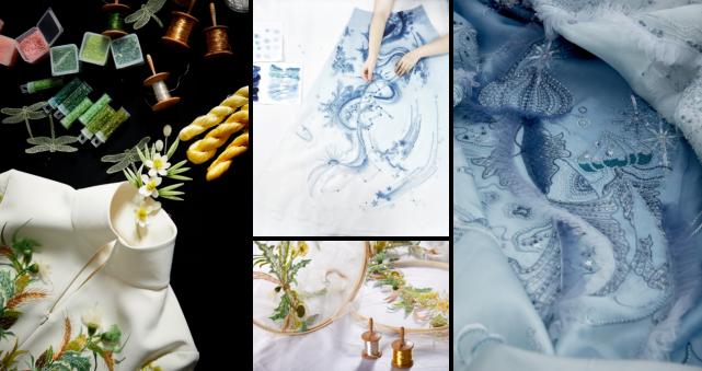 独运匠心,经典玉成,盘点设计师熊英那些仙气飘飘的时装秀场