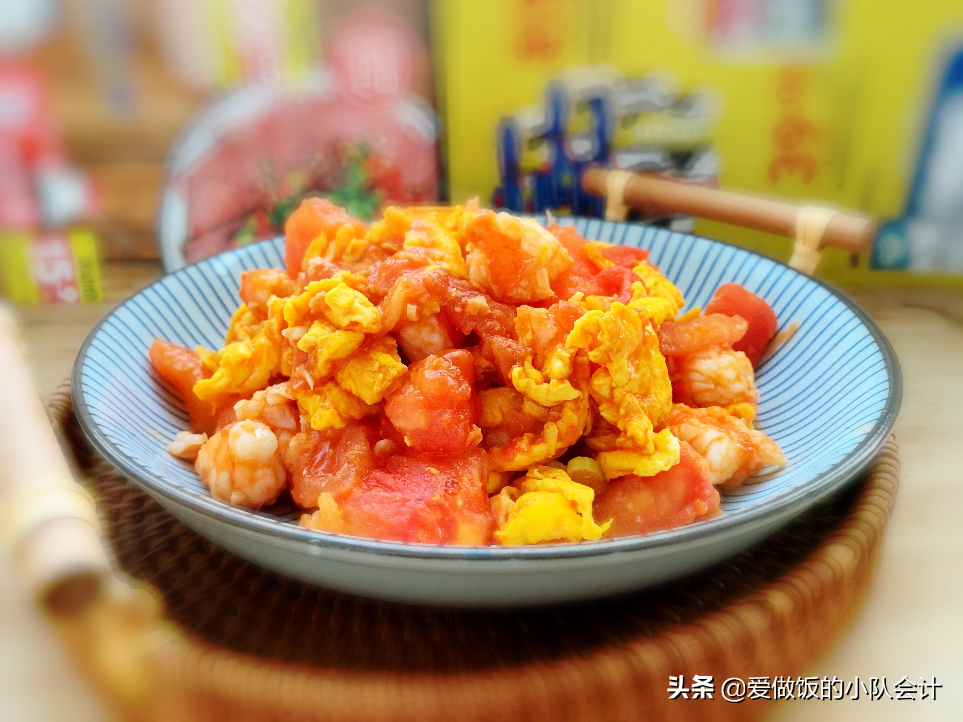 做西红柿炒鸡蛋,最怕直接下锅炒,牢记2点,汁浓蛋嫩味道香 美食做法 第1张