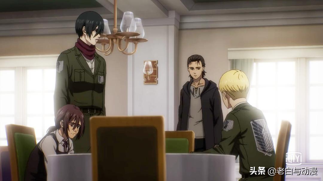巨人最終季:艾倫、三笠、阿爾敏相見,他們會談論什麼?