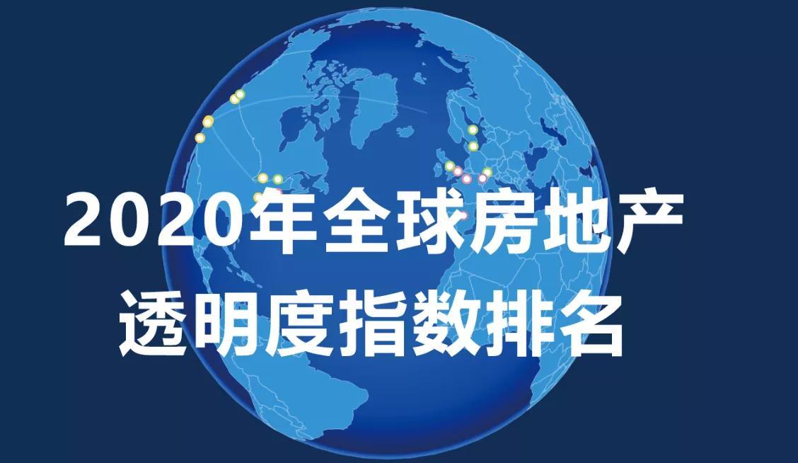 海外房产投资客户必看:2020全球房地产市场