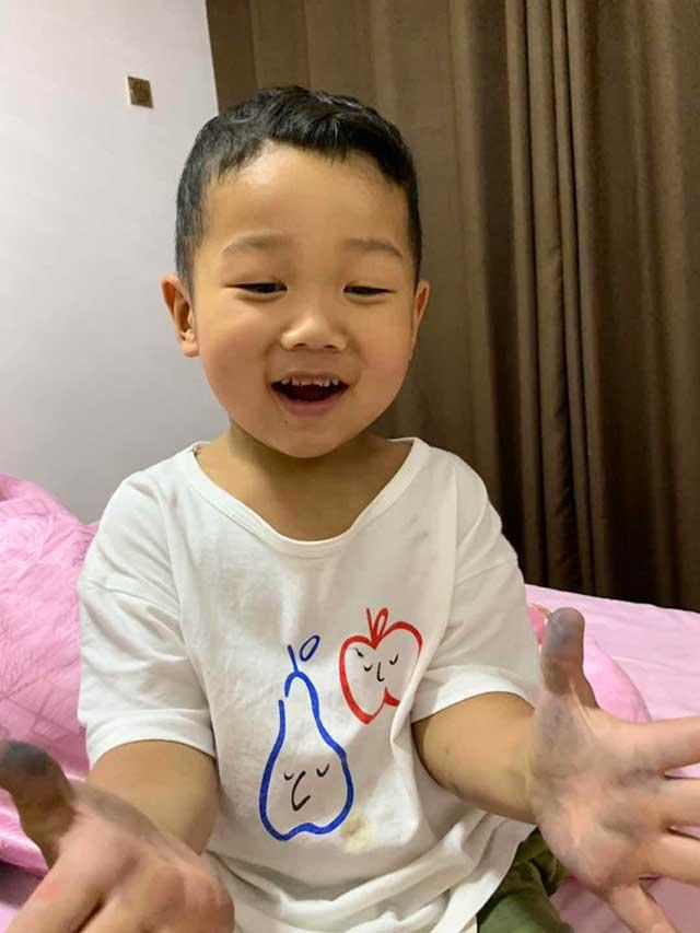 4岁小天使走了,人间留下他的痕迹