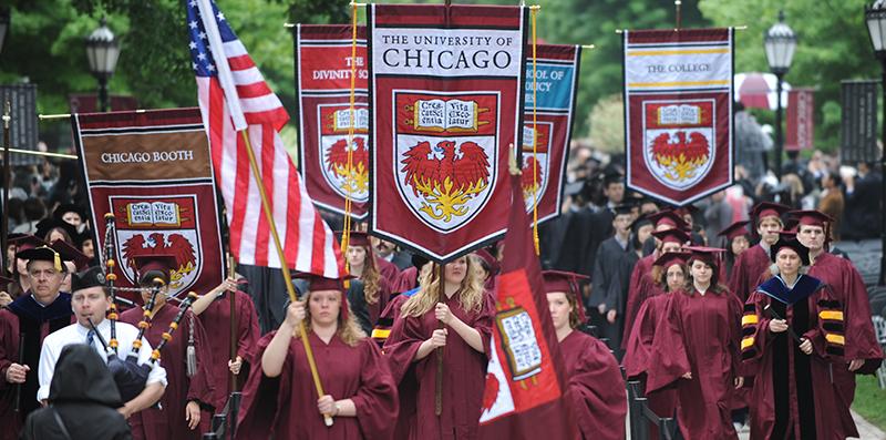 """""""芝加哥大学没有海,我却甘愿当她的鱼""""今天刷屏UChicago红"""
