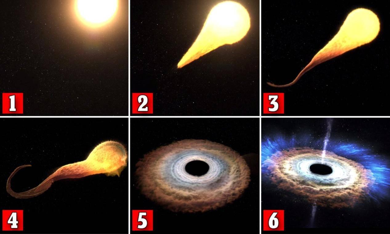 黑洞与恒星的角逐,是宇宙最亮的焰火,还是恒星临终的哭泣