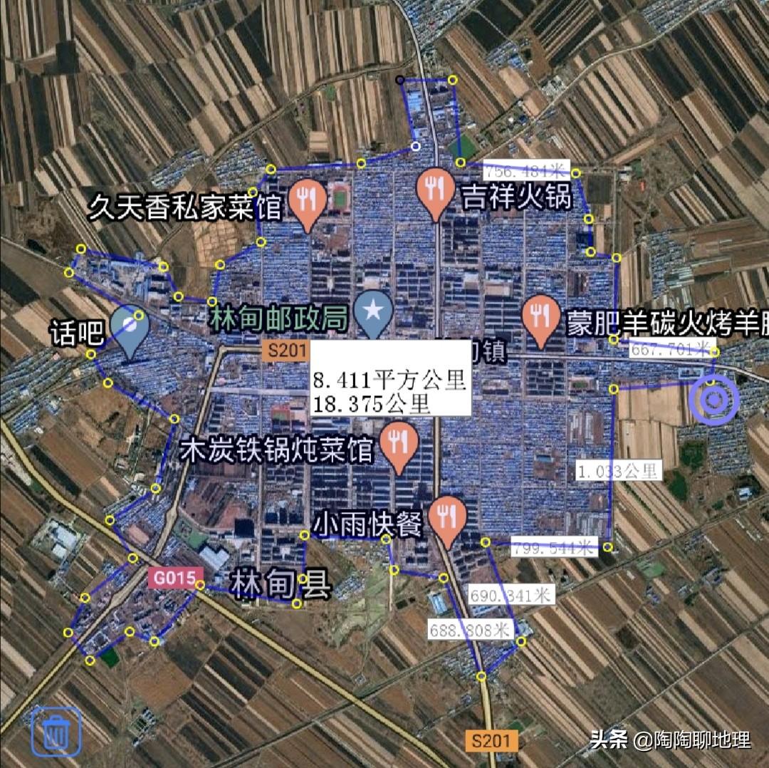 大庆市5区4县建成区排名,让胡路区最大,大同区最小,了解一下?