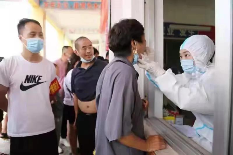疫情防护第一线 夏邑县车站镇组织村干部全员出征