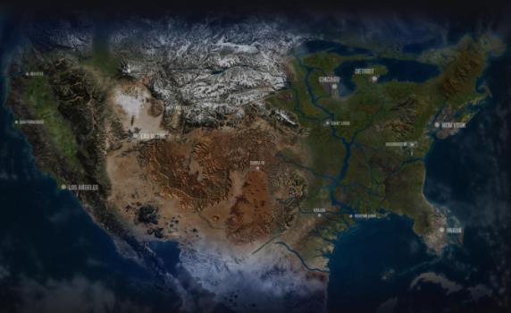 推特上热搜的《GTA6》预测地图见过吗?每一款都备受期待