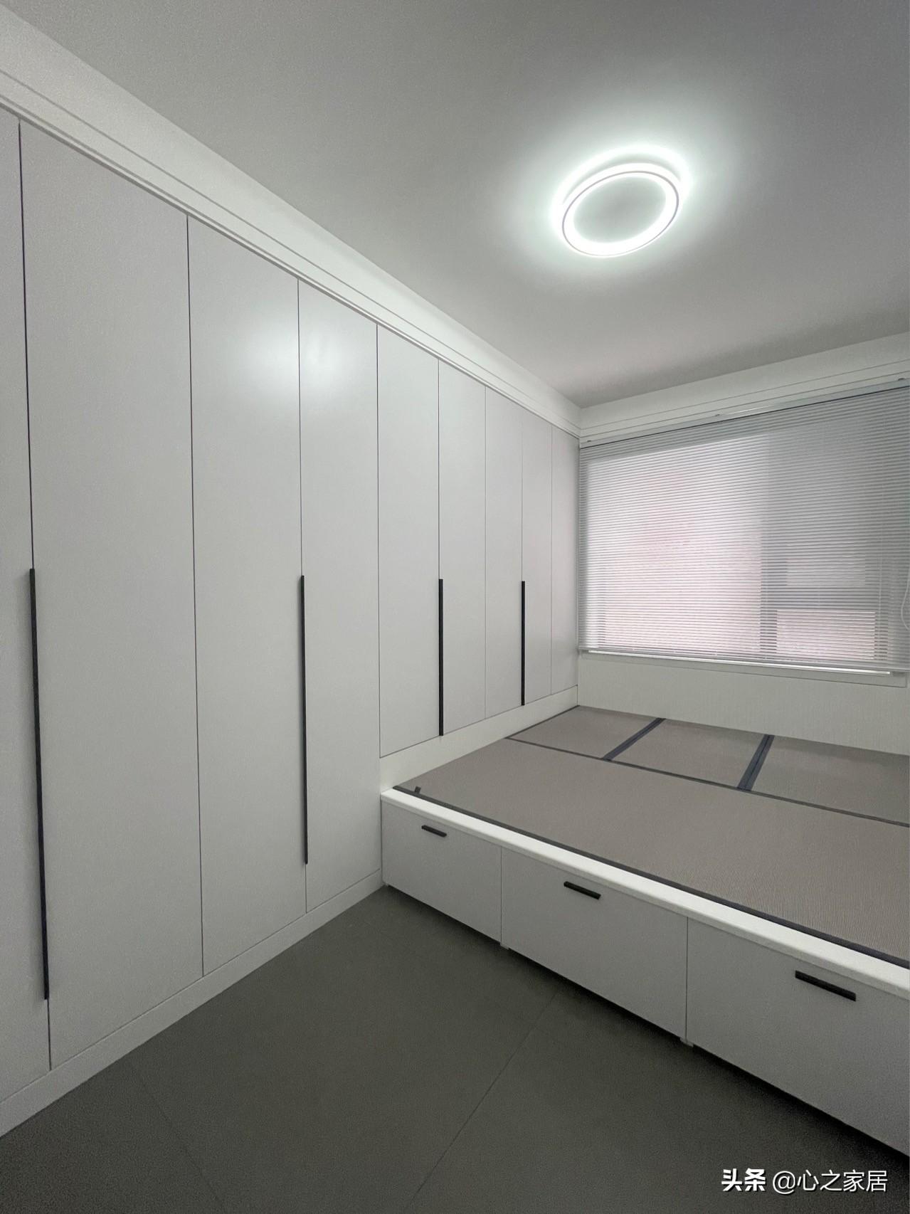 63㎡极简的家装设计,干净利落宽敞明亮,打造艺术气息的居家生活