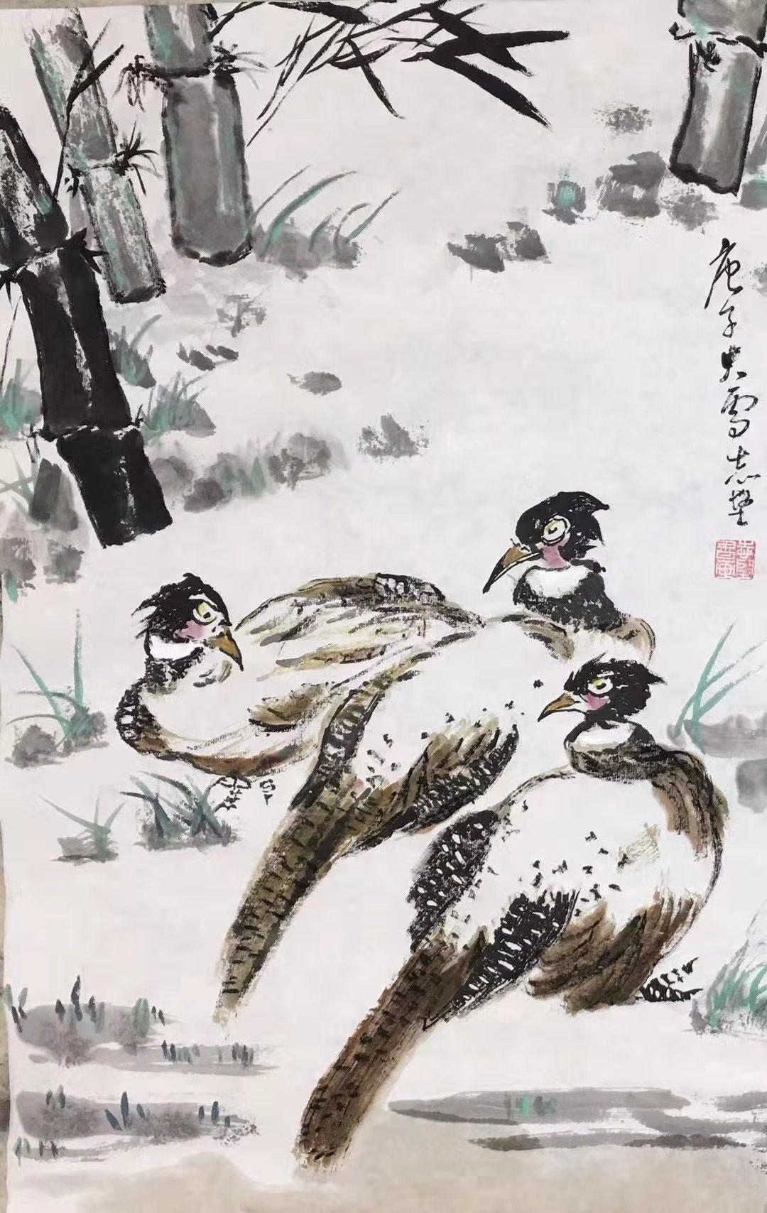 书画家邓志坚2021迎春作品展