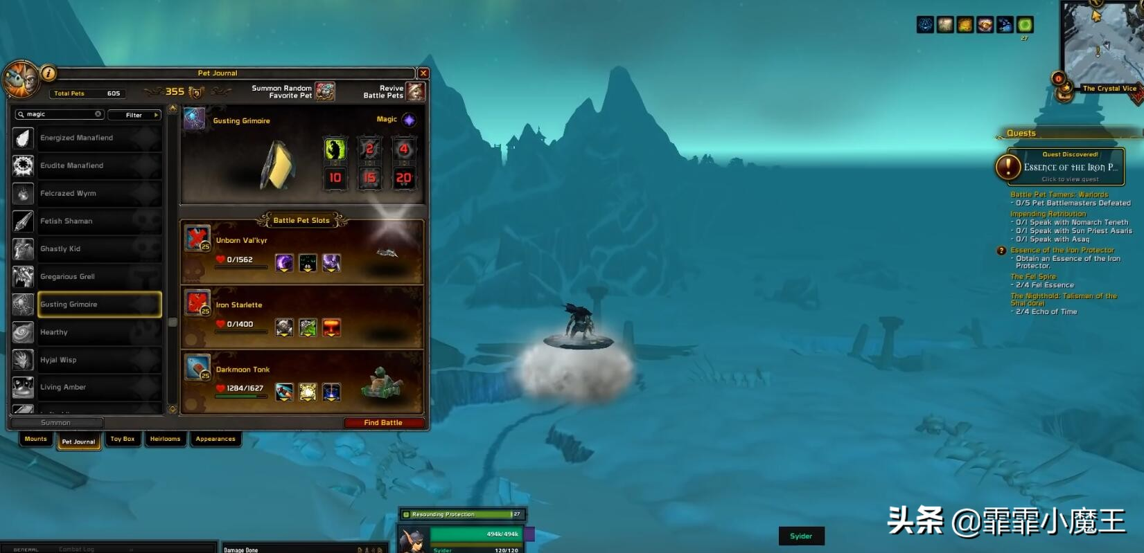 """魔兽世界9.0,暴雪送坐骑,玩家自己选,绿色""""幽灵虎""""待加入  第3张"""