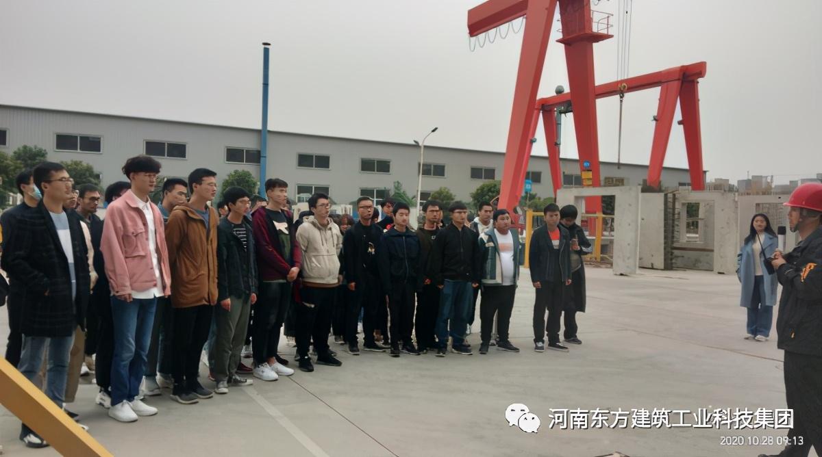 走进企业,探索未来——热烈欢迎鹤壁职业技术学院师生前来参观
