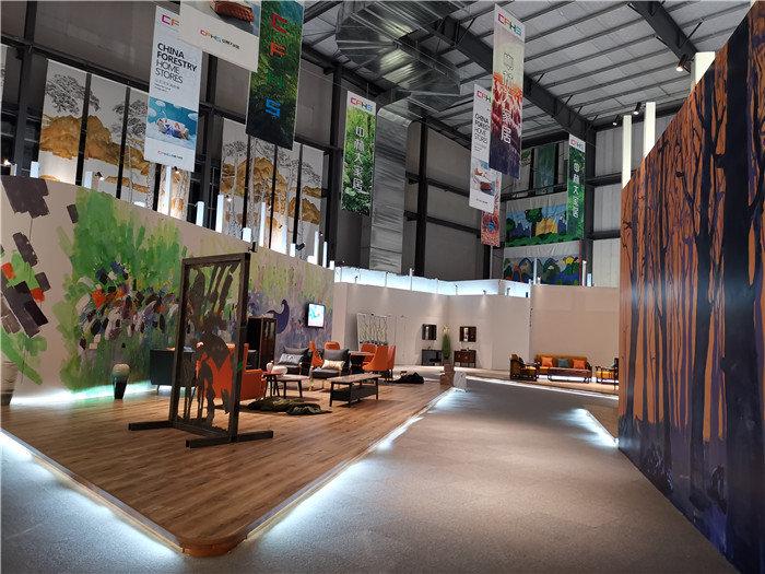 「设计」中林大家居5G智能展厅设计