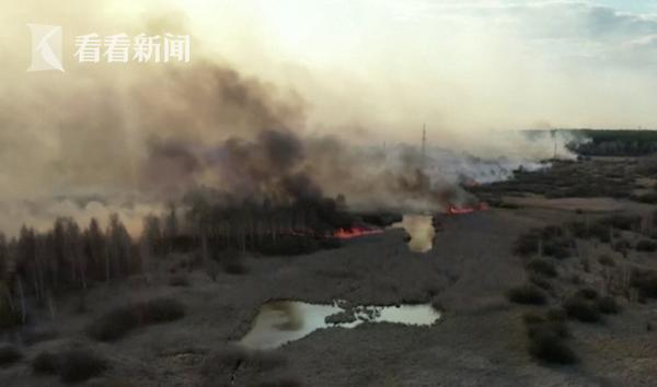切尔诺贝利大火仍在蔓延 部分地区辐射值超标