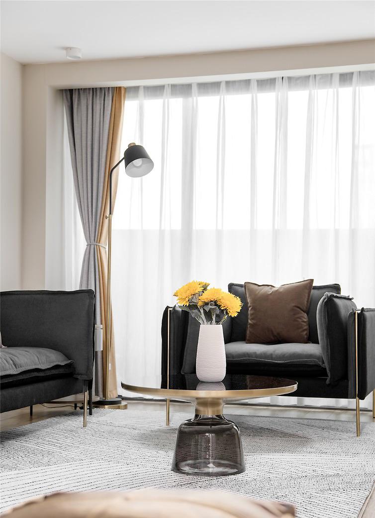 福州装修案例:80�O北欧风复式小宅,品味自由随性的生活格调