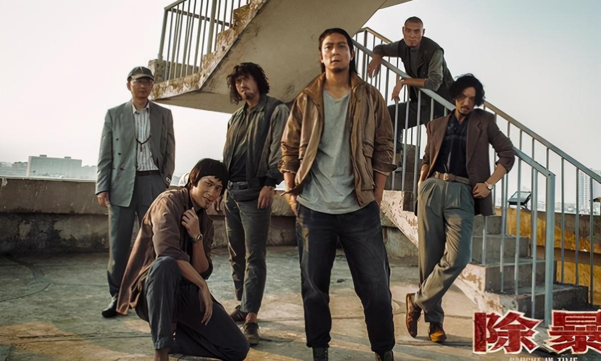 今年首部警匪片《除暴》11月27日上映,吴彦祖新形象让你一惊