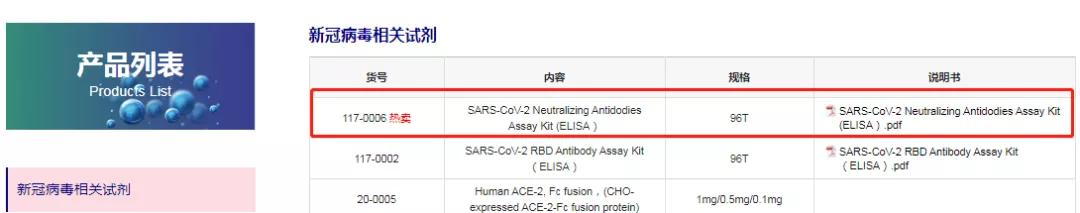 京天成生物,涉嫌宣传、私售未注册新冠疫苗抗体试剂?
