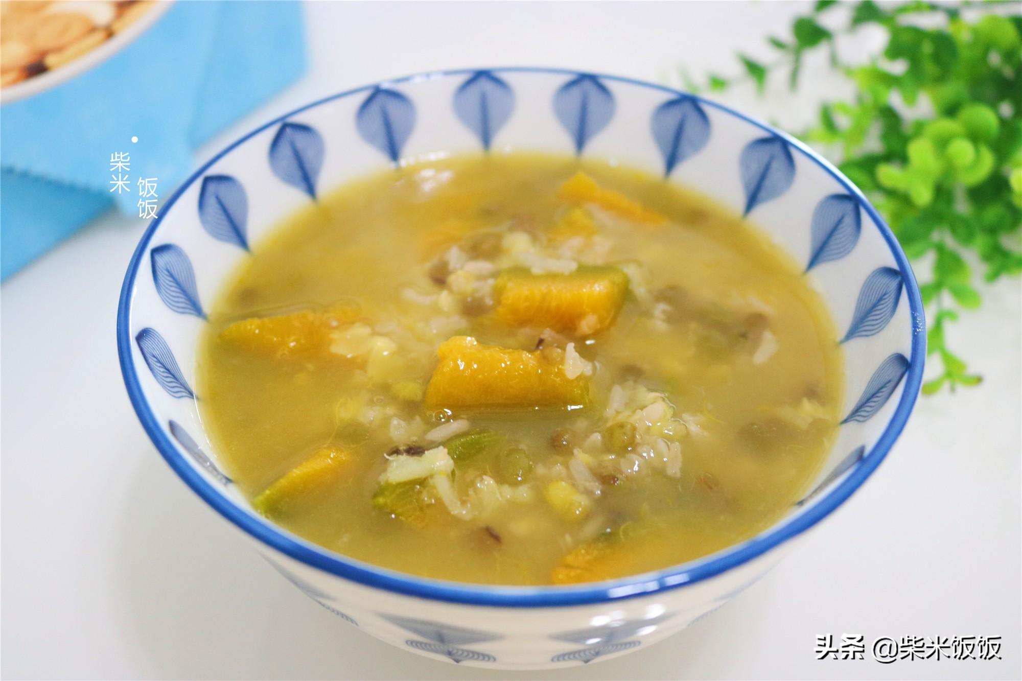 夏季天熱,我家常煮這款粥,清甜滋潤,解暑養脾胃