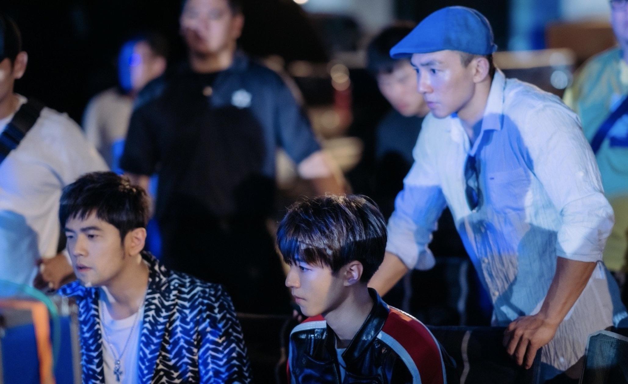 周杰伦王俊凯比剪刀手,首次合作电影,一个当监制一个特别演出