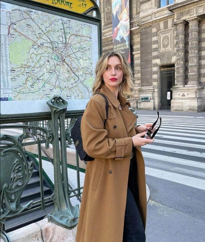 法国时尚博主lucie rose 优雅时髦的秋日法式出街穿搭范本