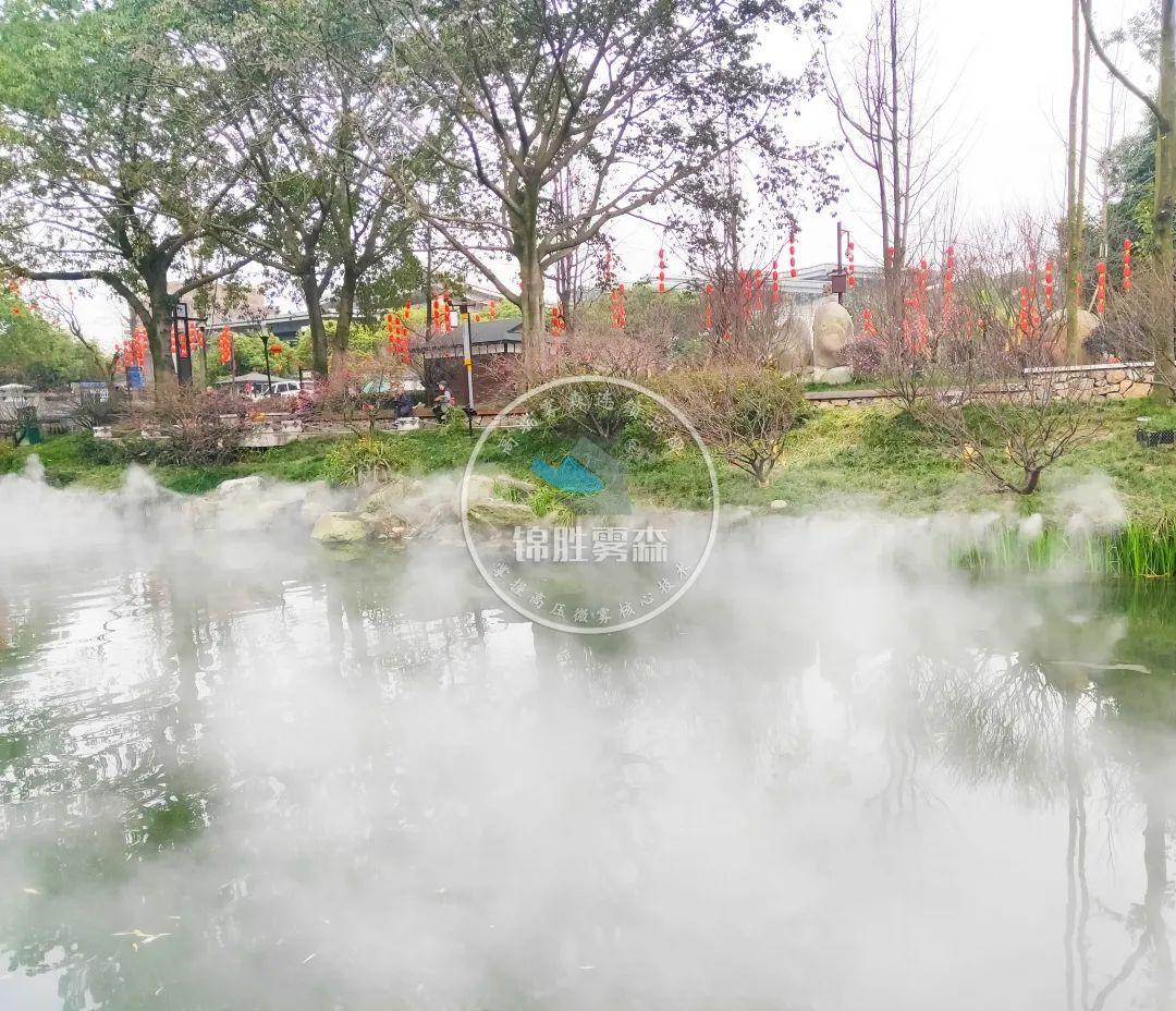 人造雾建设生态园林,享生态环境——锦胜雾森