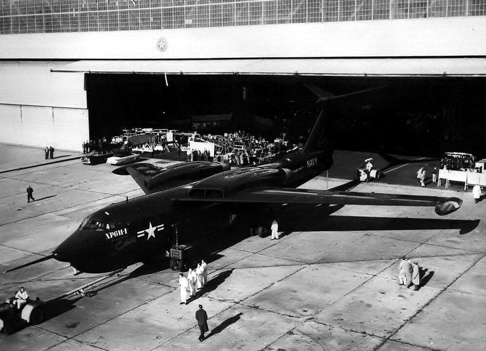 昙花一现的美国喷气式水上战略轰炸机